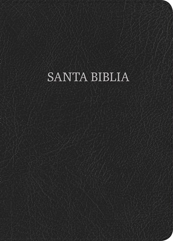 Spanish-RVR 1960 Giant Print Reference Bible-Black Bonded Leather