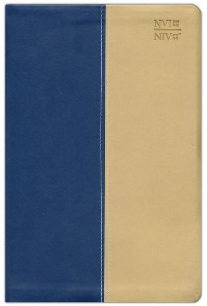 Spanish/English NVI / NIV Bible, Blue DuoTone