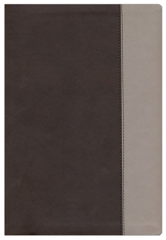 Parallel Bible KJV, NKJV, NIV & NLTse Flexisoft Leather Brown/Tan