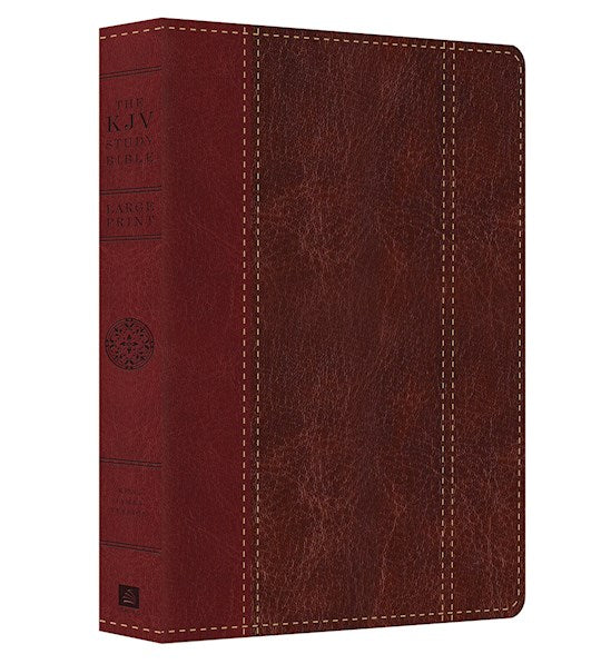KJV Study Bible - DiCarta Two Tone Large Print