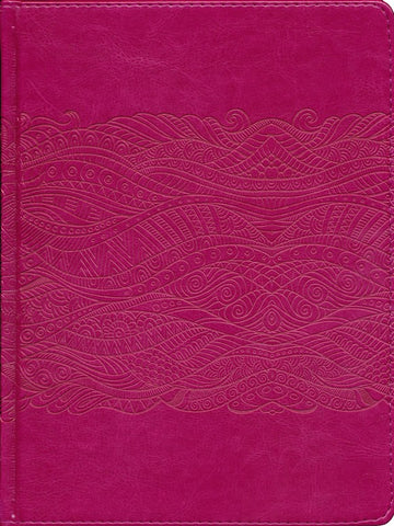 Spanish Biblia de Auntes Pink Journaling Bible