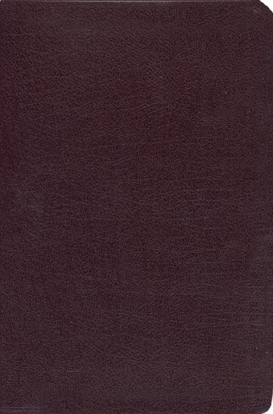 KJV Old Scofield Study Bible-Classic Edition-Burgundy Bonded Leather Indexed