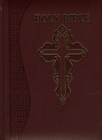 NABRE Catholic Family Heritage Edition, Burgundy Bonded Leather