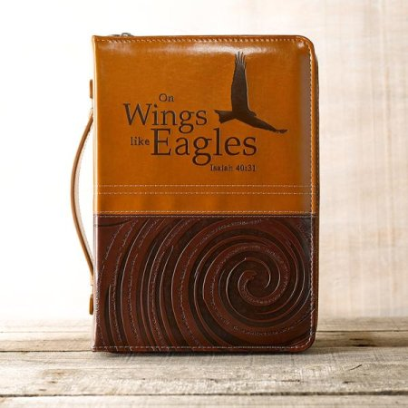 Isaiah 40:31 Wings Bible Cover