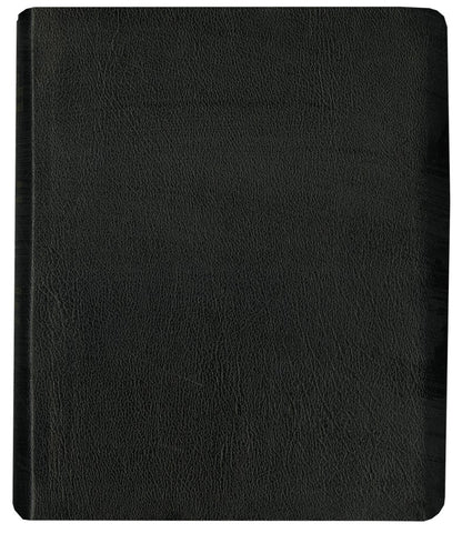 KJV Dake Large Print Leather Study Bible-Black