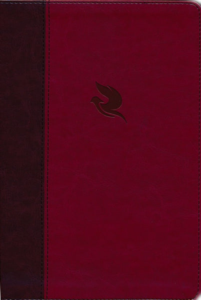 NKJV Spirit-Filled Life Bible (Third Edition) -Burgundy Leathersoft with Dove