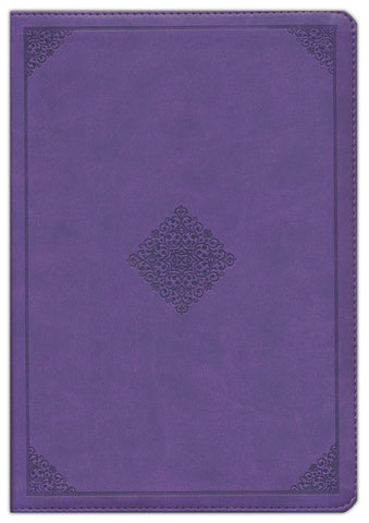 ESV Study Bible (TruTone Imitation Leather, Lavender, Ornament Design)