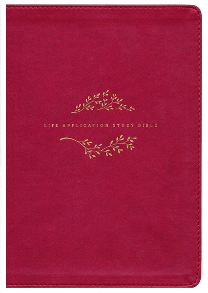 NIV Life Application Study Bible (Third Edition)-Berry LeatherLike Indexed