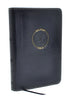 CSB Compact Military Bible, Navy Blue LeatherTouch for Sailors
