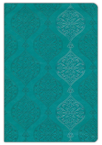 KJV Open Study Bible, Comfort Print--soft leather-look, turquoise