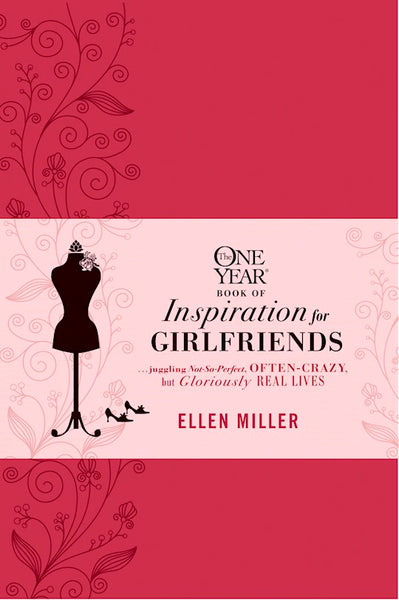 One Year Book Of Inspiration For Girlfriends-Imitation Leather