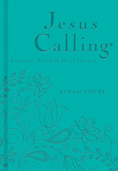 Jesus Calling Devotional, Personalized -Teal Edition