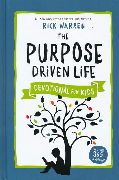 The Purpose Driven Life Devotional Book for Kids