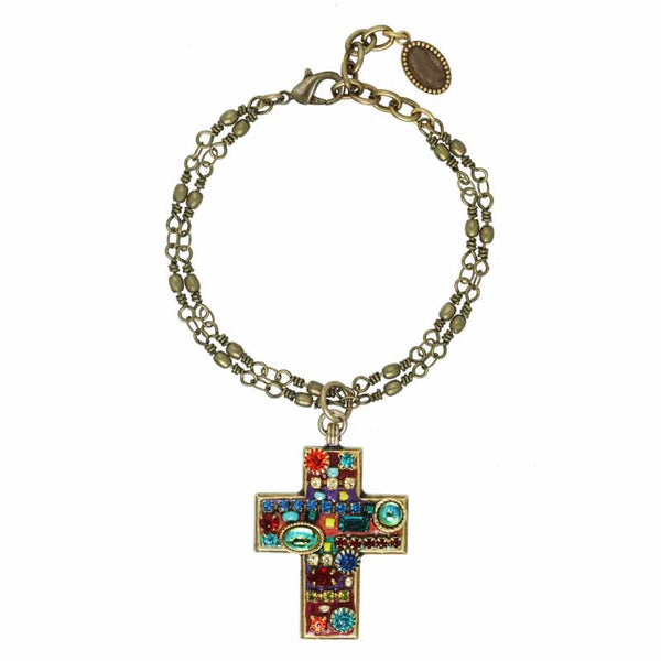 Multibright Cross Bracelet