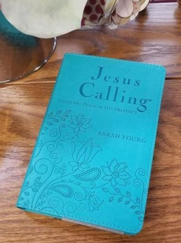 Jesus Calling Devotional Compact -Teal Edition