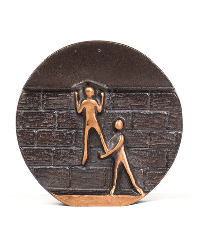 Bronze A Helping Hand Plaque