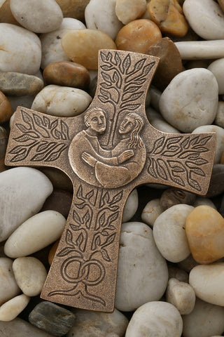 Bronze Matrimony Cross