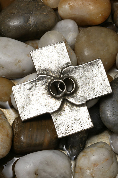Covenant Silver-Nickel Finish Cross
