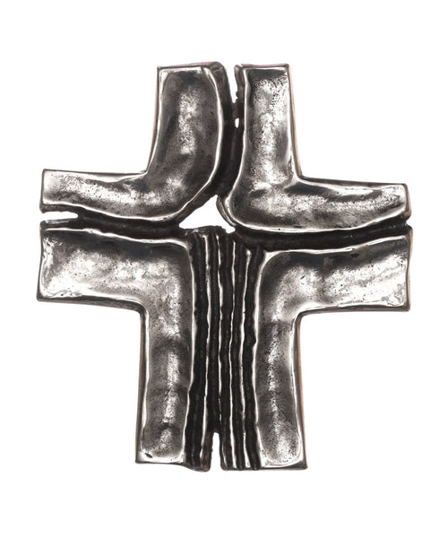 Jesus, Channel of Grace Crucifix Silver Nickel