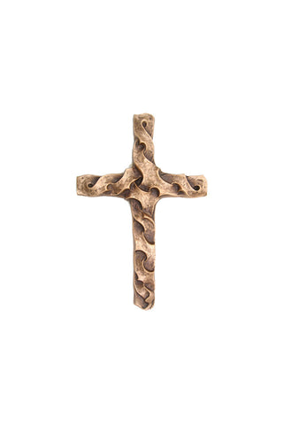 Small Beloved Bronze Wall Cross