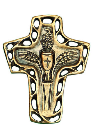 Body and Blood Bronze Cross