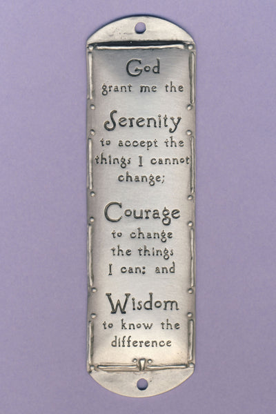 "Room Blessing ""Serenity Prayer"""