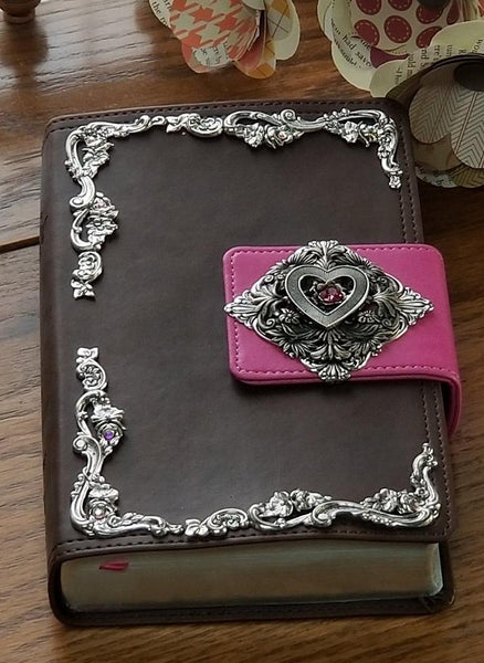 Jeweled Heart Women's Devotional Bible NIV