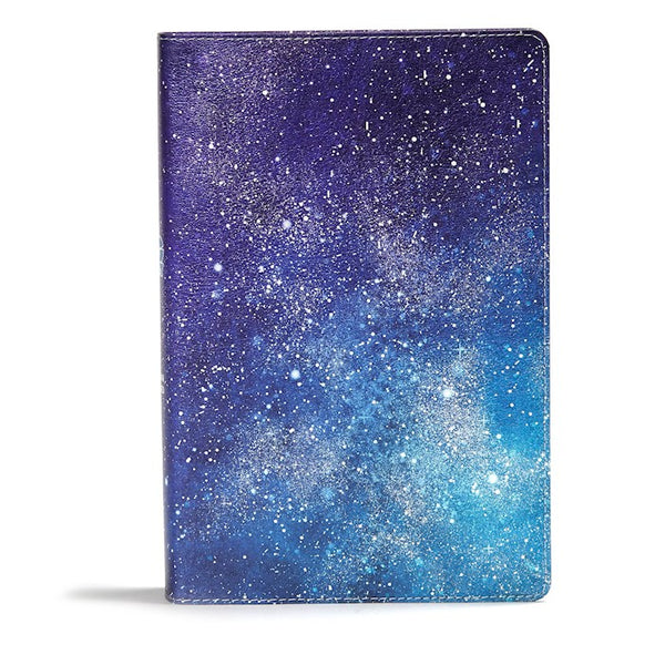 CSB One Big Story Bible-Galaxy LeatherTouch