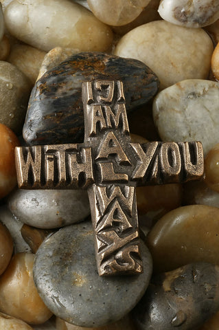I Am Always With You Bronze Cross