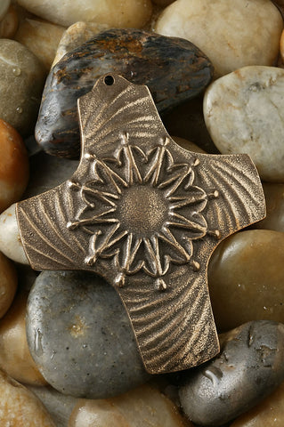 Join Our Hands Together Bronze Cross