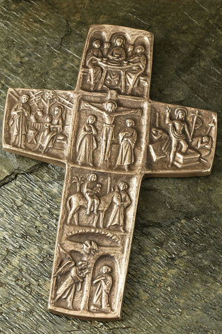 Life of Christ Bronze Cross
