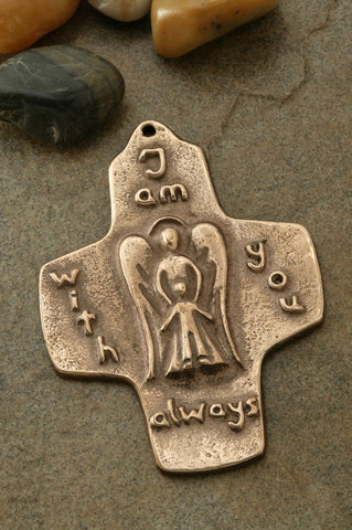 Guardian Angel Bronze Cross