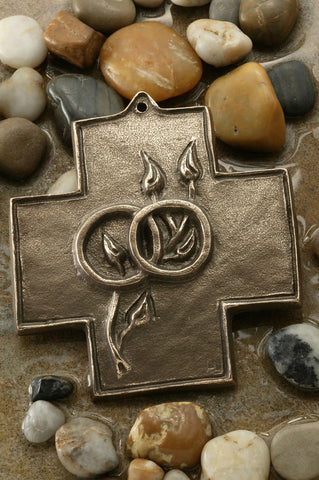 Growing In Love Together Bronze Cross