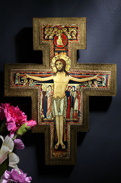 "29"" San Damiano Wall Crucifix"