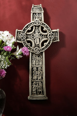 Scripture Cross - Clonmacnois, Ireland
