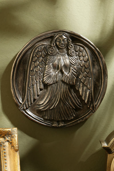Guardian Angel of Home & Family Bronze Plaque