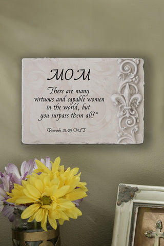 Custom Name Plaque Proverbs 31:29