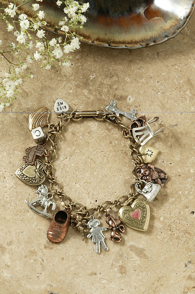 Charm Bracelet-Mother's Little Treasures