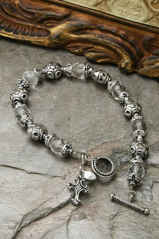 Good and Perfect Sterling Silver Bracelet