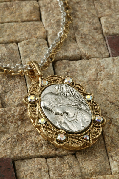 Angel Locket Medallion
