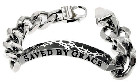 Crown of Thorns Bracelet Saved By Grace Eph 2:8-9