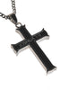 Black Courage Iron Cross Joshua 1:9