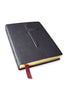 Handbound Custom Leather Bible Traditional Cross-KJV or NIV
