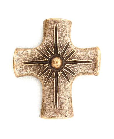 Bronze Light of the World Cross