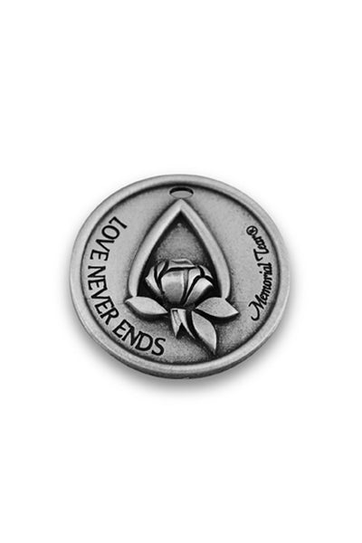 Memorial Tear®  Pewter Pocket Tokens