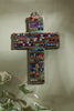 Bright Gemstone Wall Cross