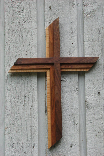 "Trinity Hardwood Dimensional Cross Size-choice of 6 size options 21"" to 7 foot"