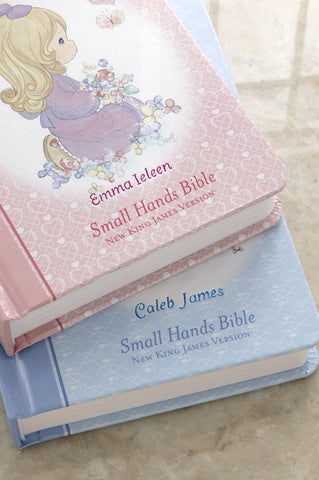 Pink Precious Moments Bible-Small Hands Edition Hardcover