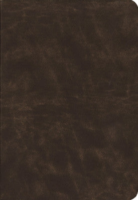 NIV Life Application Study Bible, Large Print Distressed Brown