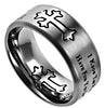 Neo Ring Silver I Know the Plans-Jeremiah 29:11